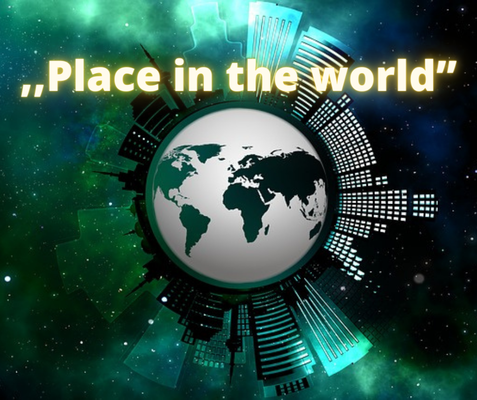 """,,Place in the world"""""""
